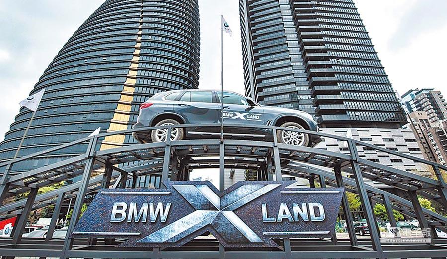 「BMW X LAND」體驗營特別打造多樣化的Offroad越野體驗關卡,讓現場所有參與民眾大呼過癮。圖/陳慶琪