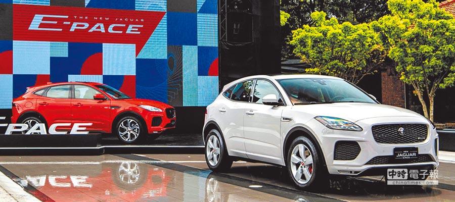 New Jaguar E-PACE全車系標準配備智慧型AWD四輪傳動系統與SportShift Gear Selector 9速手自排變速系統,實現領先同級距的敏銳操控性能與出色動態反應。圖/台灣捷豹路虎提供
