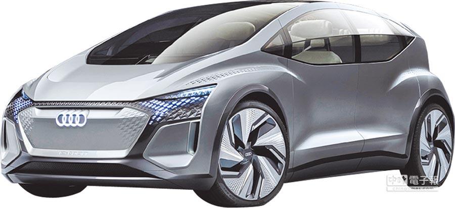 因應未來日趨壅擠的都會用車需求,Audi AI:ME以獨特的緊湊車型尺寸,並匯集多項嶄新科技,結合Level 4自動駕駛技術之外,更率先車壇導入移動客廳的用車概念。圖/台灣奧迪提供
