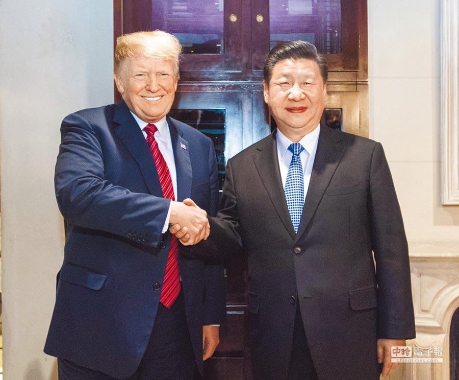 據《華爾街日報》報導,美國和大陸將於5月27日簽署貿易協定,但這預測可能落空。(新華社)