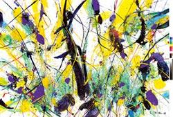 兩岸藝術展 細說抽象美