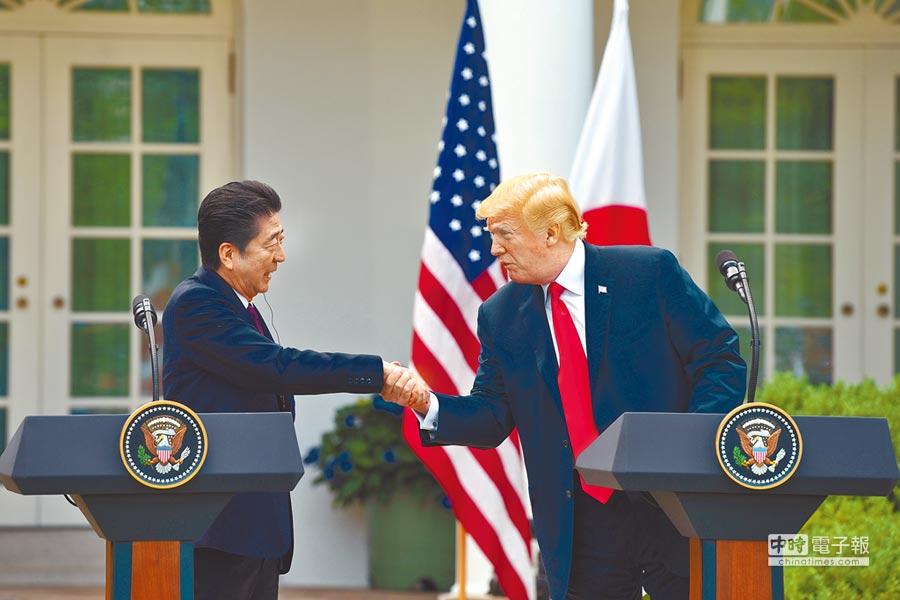 美日兩國領袖4、5、6月將密集互訪,連續3個月舉行美日高峰會談是很罕見的特例。(中新社資料照片)
