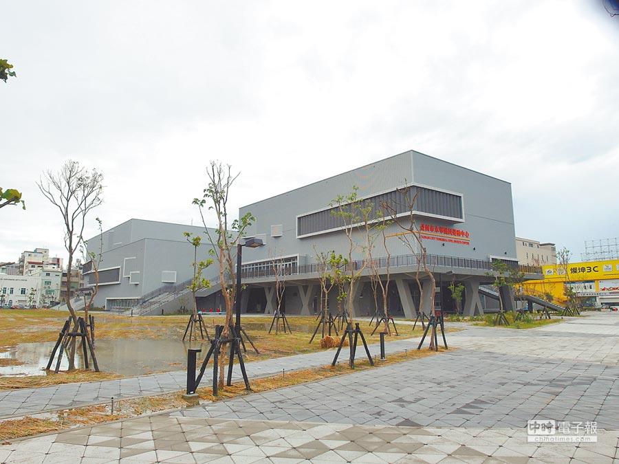 台南市近200萬人口,卻只有1座永華國民運動中心。(洪榮志攝)