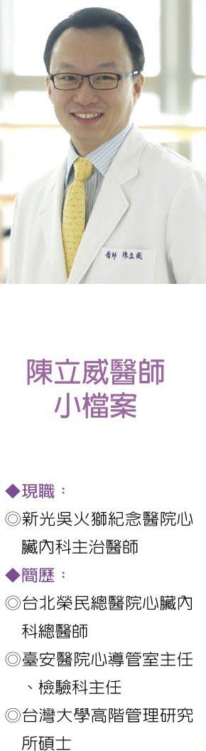 圖/新光醫院提供  陳立威醫師小檔案