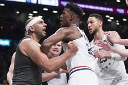 NBA》恩比德復出引爆鬥毆 七六人聽牌