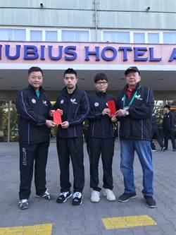 桌球世錦賽點燃戰火 林昀儒領軍出征