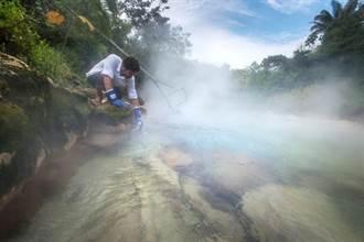 「火鍋河」長年沸騰 動物失足秒煮熟