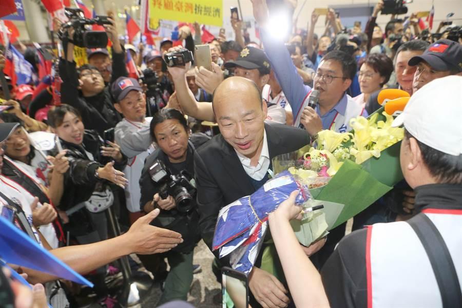 高雄市長韓國瑜。(資料照,陳麒全攝)