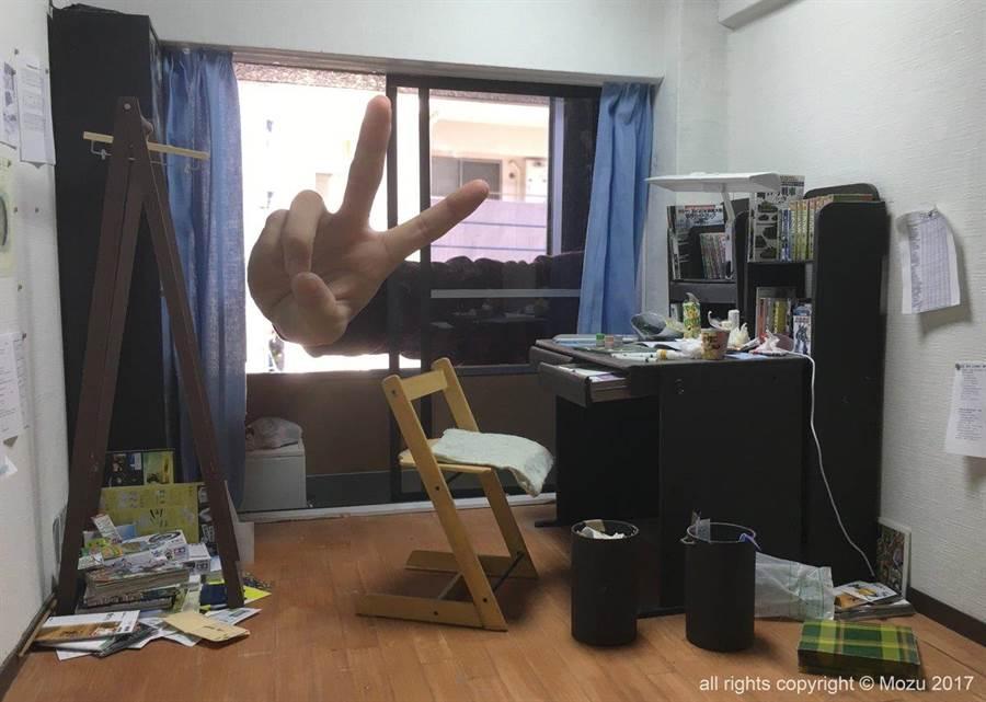 其實這個房間只是「等比模型」(圖/翻攝自推特/@rokubunnnoichi)