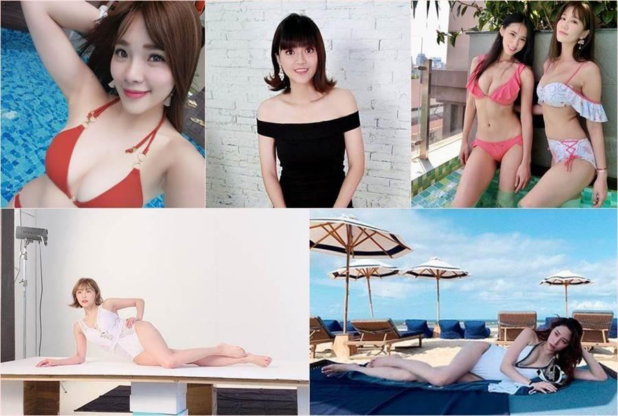 眾女星迎接夏天紛紛曬出美照,更公開自己的瘦身秘訣。(合成圖/翻攝自臉書)