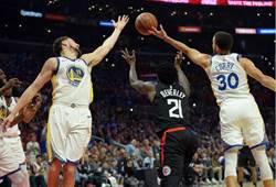 NBA》浪花弟首節17分 勇士擊退快艇聽牌