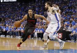 NBA》雙槍俠逞威 拓荒者掀翻雷霆聽牌