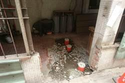 盧秀燕視察汙水接管 民眾自拆後巷增建