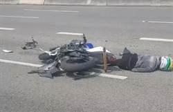 18歲重機騎士違規上國3 追撞油罐車慘死