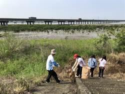 光田醫院響應地球日 淨灘撿114公斤垃圾