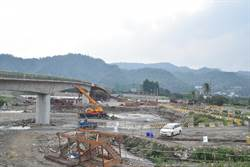 埔里愛村便橋沖毀 23日修復