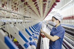 越南擴產掀熱潮 紡纖廠營運加分
