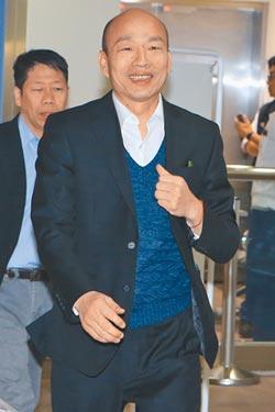 台灣政情韓流勝「台」風-最新民調 郭目前聲勢未超韓