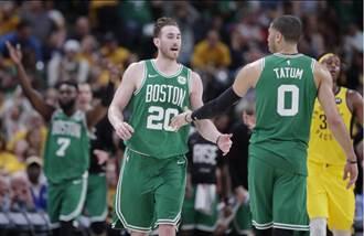 NBA》海沃德回歸 綠衫軍橫掃溜馬晉級