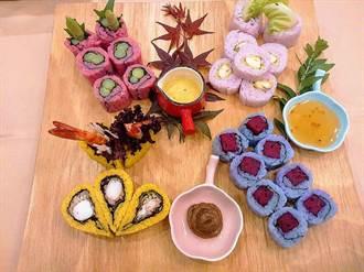 壽司、生魚片秀「春」意!台灣和食料理金賞展創意