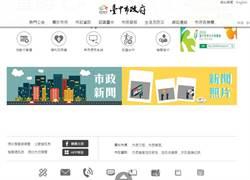 中市府官網改版提升視覺化 搜尋更方便