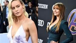 《復仇者聯盟4》首映會紅毯!女星放送性感酥胸比美