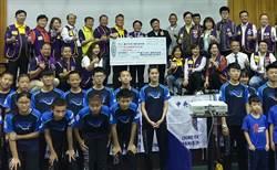 持續幫助培育桌球選手 同濟會募款贊助