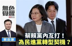 無色覺醒》賴岳謙:蔡賴黨內互打!為民進黨轉型契機?