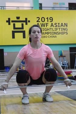 郭婞淳亞錦賽抓舉破世界紀錄奪金