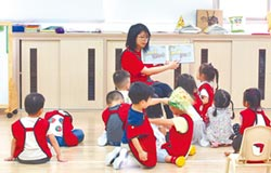 首度攜手私立高中 泰北幼兒園開招