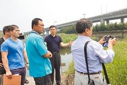防汛期又溢堤 鹿港鎮提前清淤