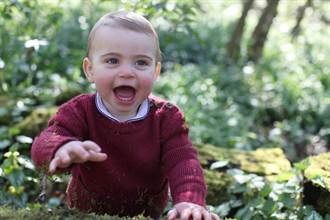 可愛爆表!路易王子1歲了