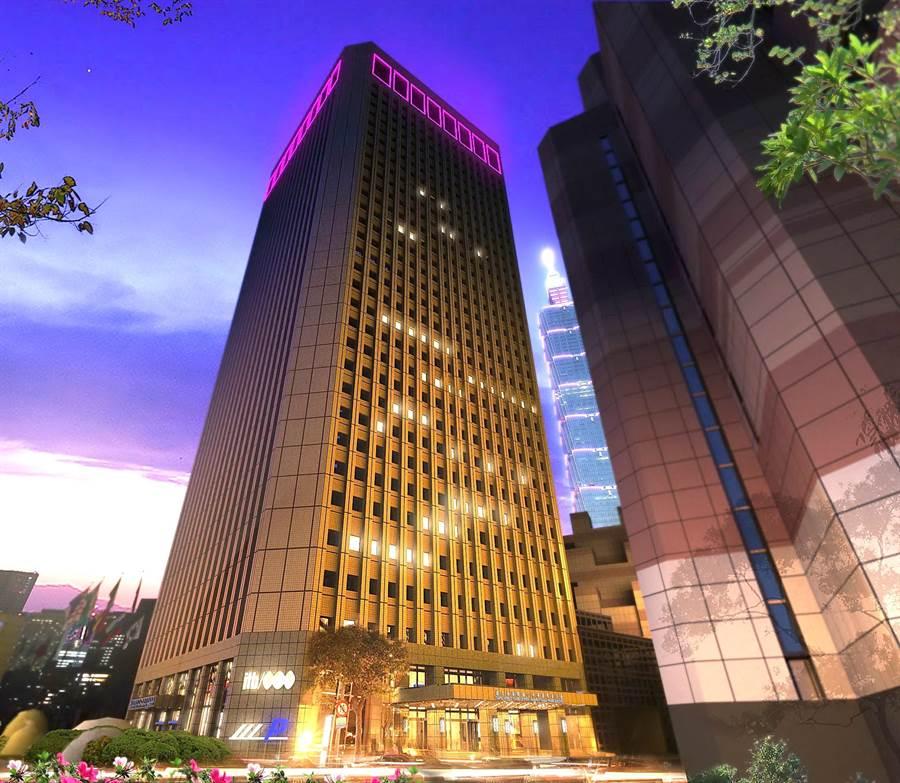 世貿聯誼社位在台北市信義區的國貿大樓33與34樓,是台北市最早的都會景觀餐廳,餐飲與服務均維持高檔水準。(圖/國貿大樓)