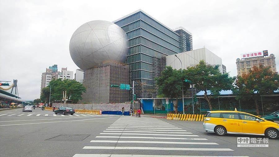 台北表演藝術中心被視為台北市爛尾樓之一(本報資料照)。