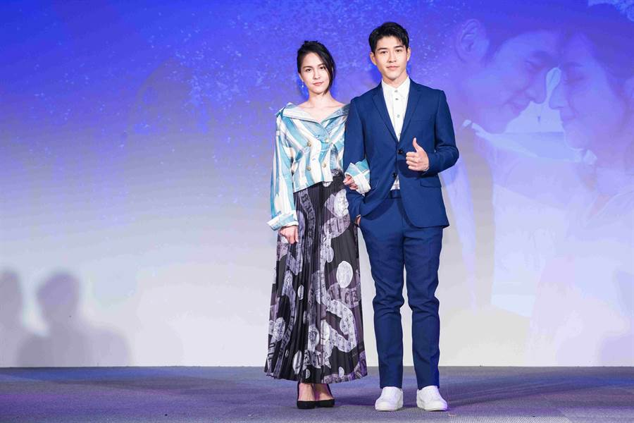 魏蔓在劇中飾演吳岳擎的學姊。(圖/歐銻銻娛樂提供)