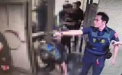 北市東區酒客持刀互砍  警噴辣椒水逮25人