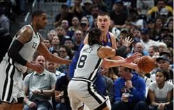NBA》馬刺客場被砸昏 金塊3比2聽牌