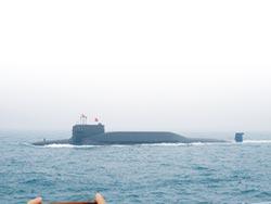094型長征-10 首受校核潛艇