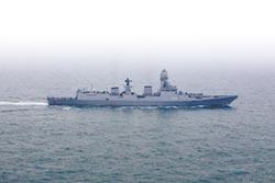 俄、印、日神盾艦 現身青島