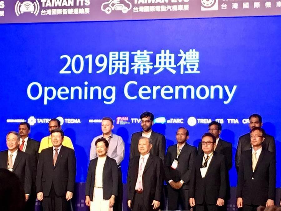亞洲規模第二的台北國際汽車零配件展,六合一聯展上午開展。圖:李麗滿