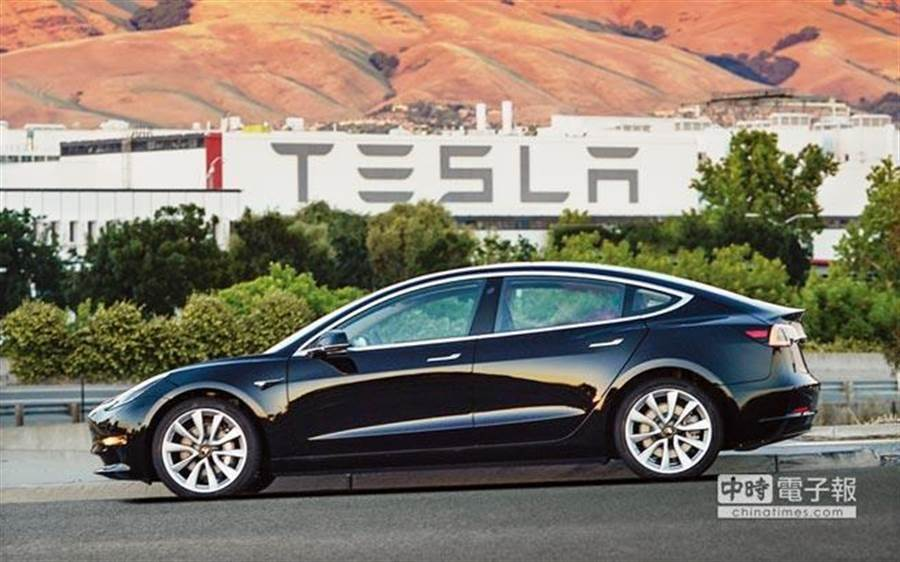 Model 3車款。(圖/美聯社)