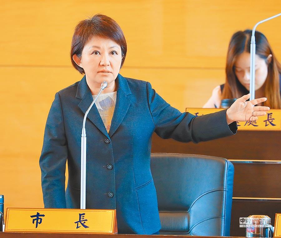 卢秀燕强调「托育补助不中断」。