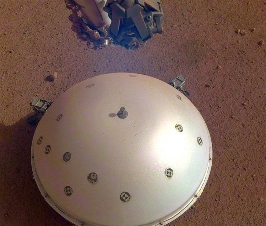 史上頭一遭!NASA觀測到火星地震