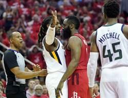 NBA》不想夜長夢多 火箭險退爵士晉級