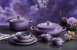 Le Creuset 2019春夏新色優雅上市 星河紫系列鑄鐵與瓷器與您一同復刻媽媽味