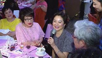 四影后同桌吃飯 林青霞為她光腳ㄚ跳舞
