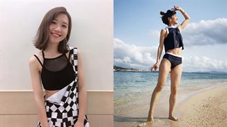 Lulu清涼泳裝露平坦腹肌!「3個月狂瘦5kg」三祕訣
