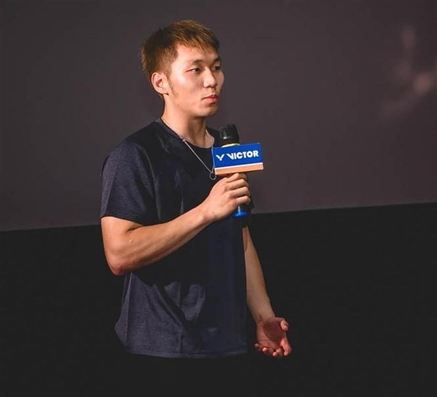 羽球選手李洋欣賞電影復仇者聯盟4,表示很欣賞鋼鐵人。(勝利體育提供)