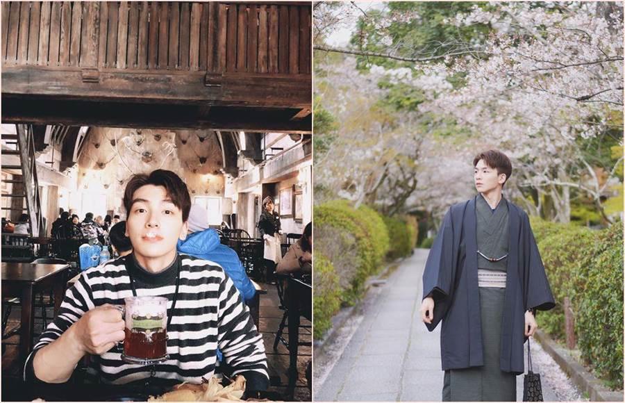 男星張洛偍帶著全家去日本玩,親自和妹妹規劃行程,在出社會後工作後還能全家出國玩,讓他十分珍惜。(圖/周子娛樂提供)