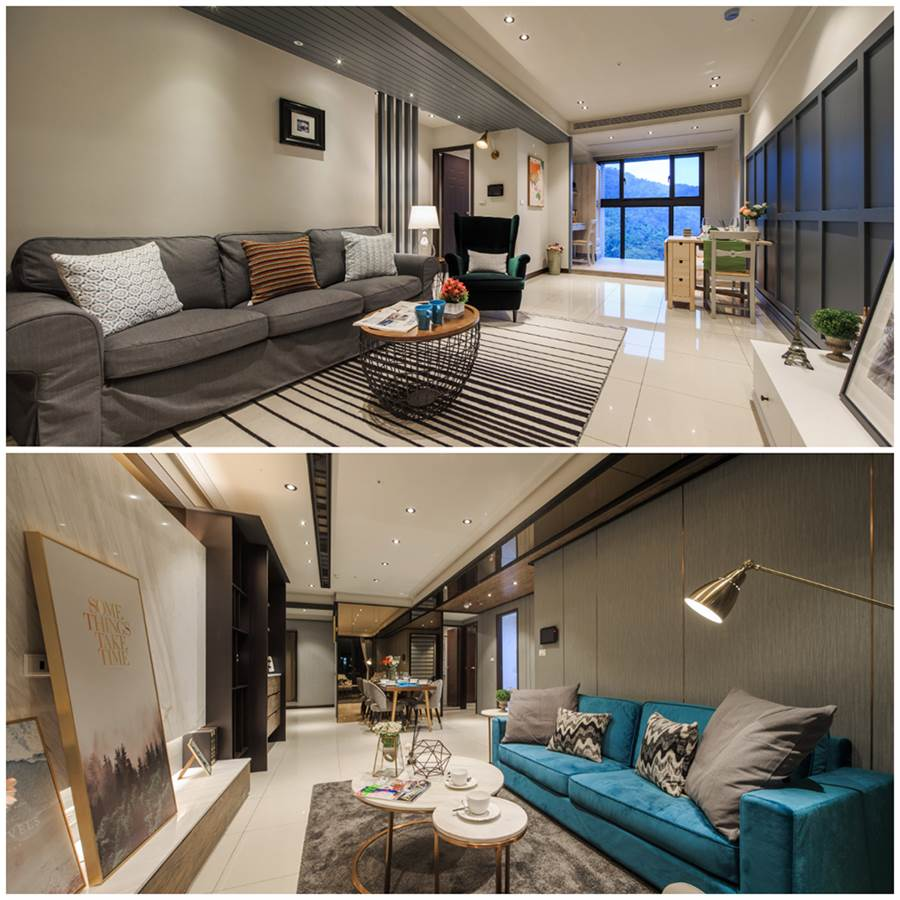 「合陽天擎」擁有2~4房多元房型,滿足不同家庭需求,吸引台北市移居客與區域換屋族賞屋。(圖/業者提供)